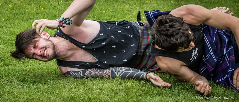 Luke McMahon & George Reid - Scottish Backhold Wrestlers