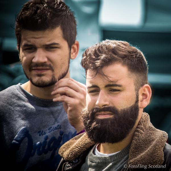 Bearded in Loch Lomond