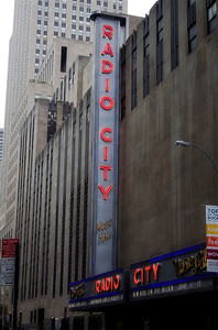 Radio City Music Hall - Manhattan