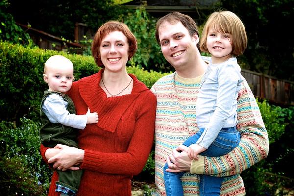 The Dupont Family Christmas Photo 2014
