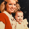 Heidi and Amber (5 mo) 1980