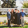 R. Scott, Kristen, Sara, Kathy, Scotty Sara's Graduation from BYU 1997