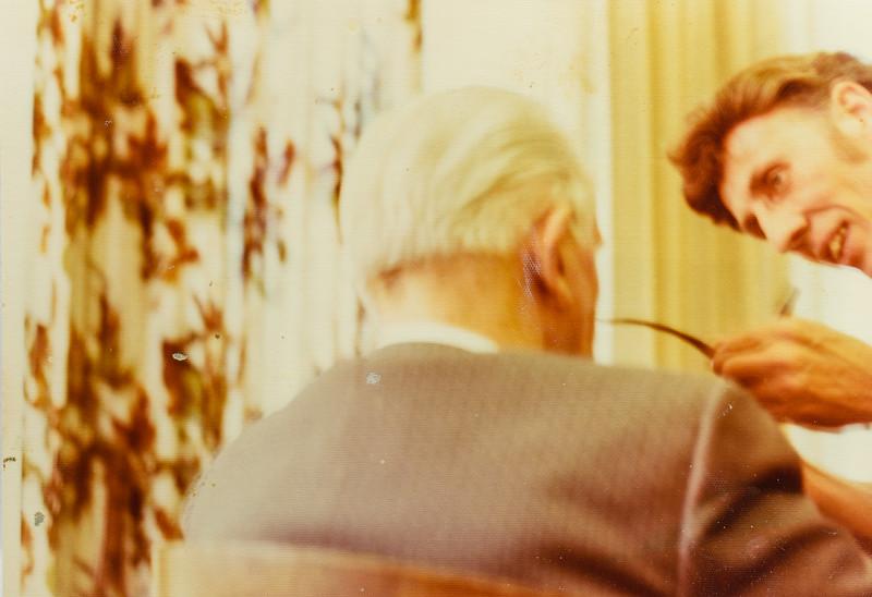 Ezra Taft Benson and R. Scott Jarvie 1977