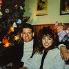 Russell and Heidi x mas 1989