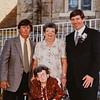 Russ C, Kathy, Paul, Pauline, 2001