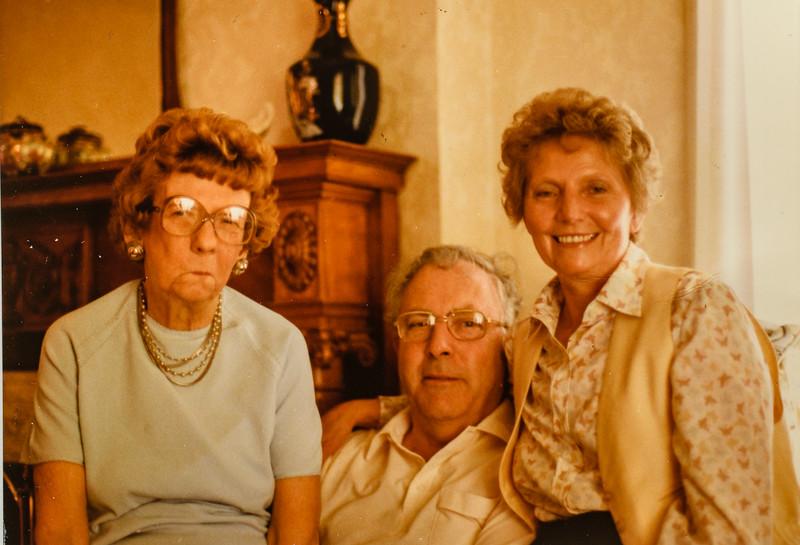 Pauline Lamson and Joe and Maxine Powers