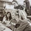 Dave, Jodi, Kathy, Kris, Leigh, Terri at rental house Feb. 8, 2015