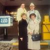 Lynee E. Jordan, Sherm Erickson, Eleanor Erickson and Pauline Lamson Jan 1992 Village Inn in Waterloo