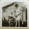 David Bonnstetter, Kathy with Matthew 1964