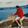 Paul at Crater Lake 2002