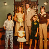 Jane (2nd wife) Paul Lamson, Mike, Brian, Ashley- Jane's daughter 1980