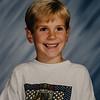 Ian Dickenson 1995, Age 5 Kindergarten