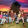 Jodi, Donavaughn, Emerson, Jay, Sara, Remington, Micheala, Scotty, Kristen on the 4th of July 2001