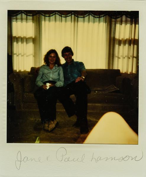 Jane and Paul Lamson 1980