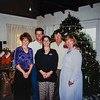 Heidi, Russell, Erin, Dad and Hannah Christmas Eve Day 1999 at Russ and Erin's house