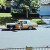Kristen in Stella the family car