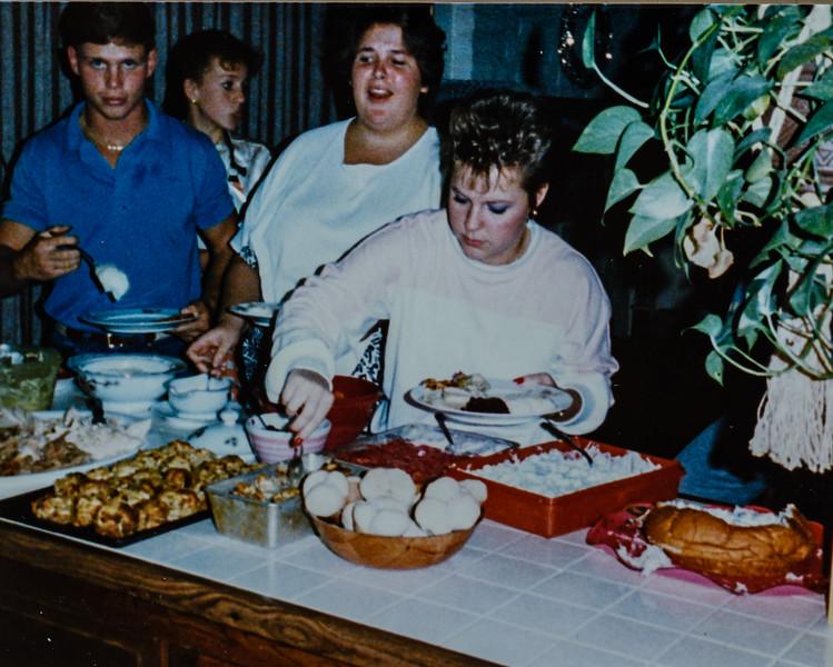 Matt, Kristen, Jennifer, Beth 1988