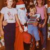 Kristen, Santa, Sara and Scotty 1981