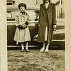 Kathy Lamson and Lois Anderson, a neighborhood friend