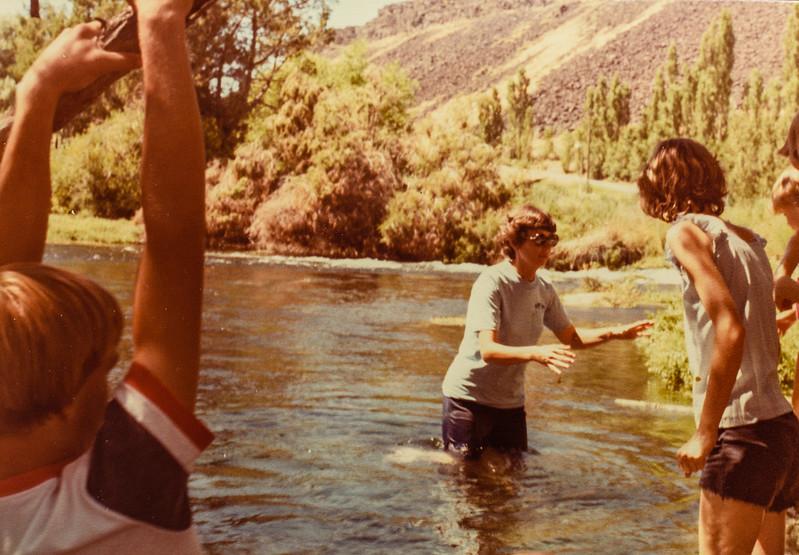 Jeff Jarvie, Kathy Jarvie and Vonda Jarvie 1977