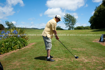 Graeme Shirley 70th Golf, 2012. Model Release; No, only for use by individual photographed without permission.