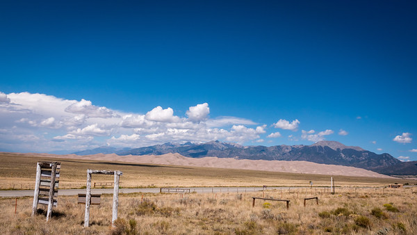 Approaching The Great Sand Dunes