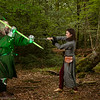 Sir Gawain Challenges The Green Knight