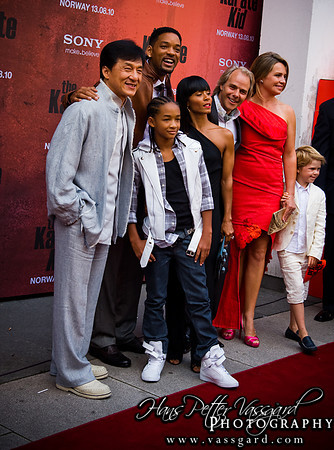 Jackie, Will, Jaden, Jada, Harald and Veslemøy.