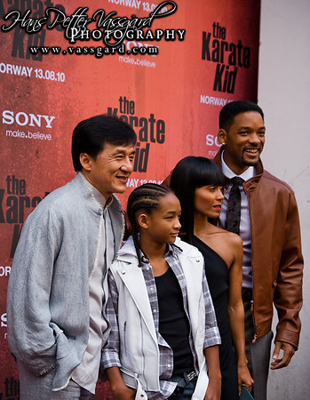 Jackie, Jaden, Jada and Will.