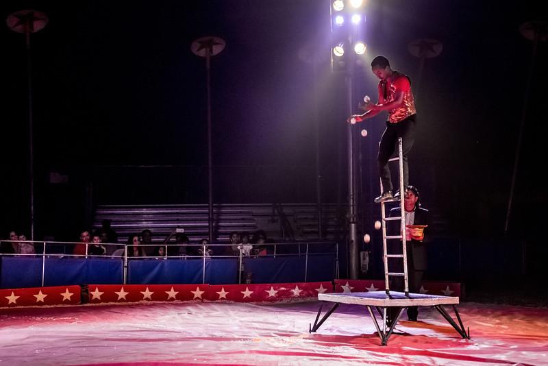 Ladder Juggler