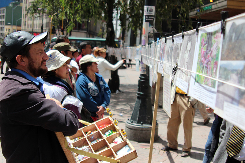 The Victims and Land Restitution Law, which attempts to respond to the serious rights violations that millions of Colombians have suffered due to the armed conflict, has generated polemical debate. <br /> Photograph: PBI Colombia