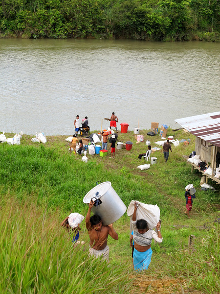 On 30 August 2011, the Nonam community returned through their own efforts and with the solidarity of national and international organisations and individuals.  The District Government of Buenaventura failed to meet its responsibilities.