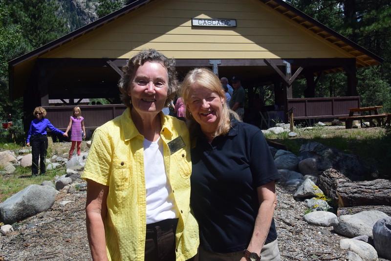 Joyce and Barb
