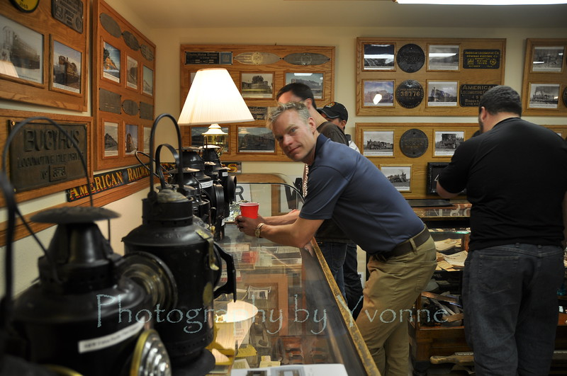Rich at Cres' museum