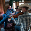Al, Jon, Jeff on fiddle