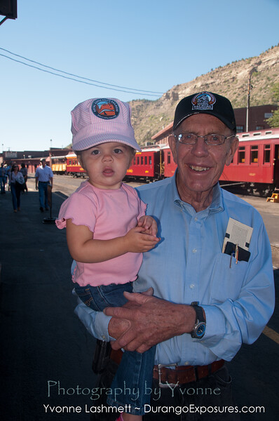 Gary Rolstin and granddaughter