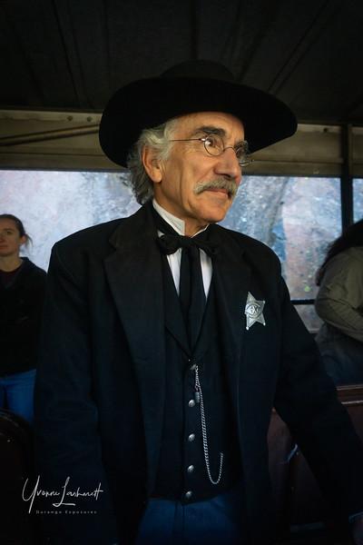Alan Sabo (Historic Narrator, the Sheriff)