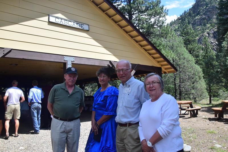 Bruce, Brenda, Roger, Sue