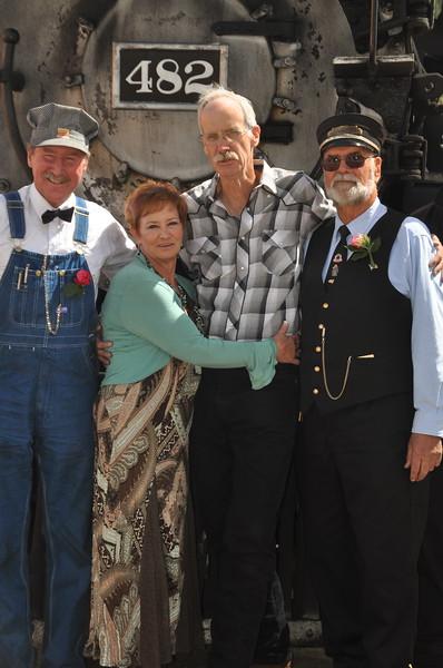 Mike, Vickie, George, Frank