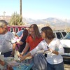 Company tailgate party at FLC