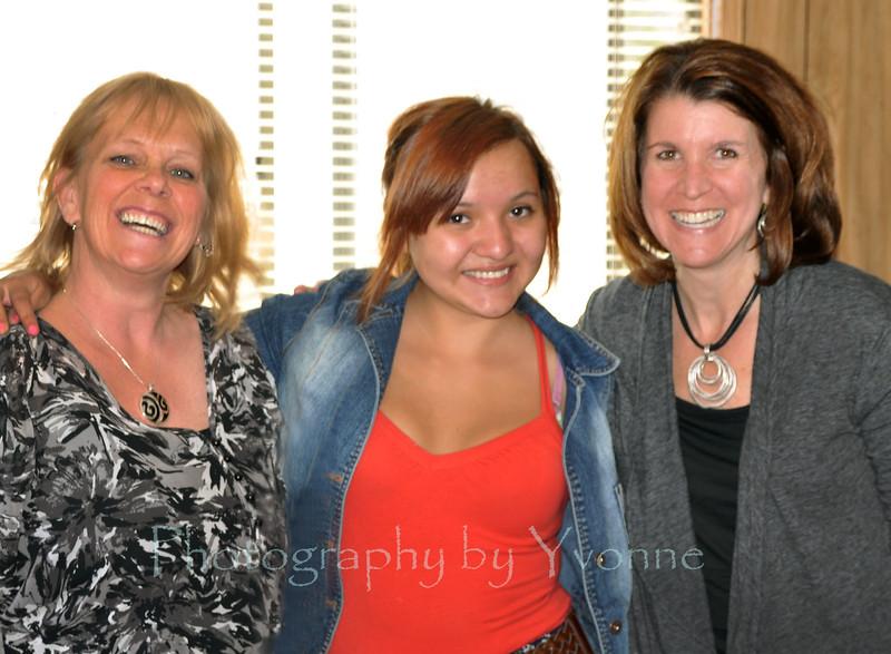 Yvonne, Alicia, Andrea