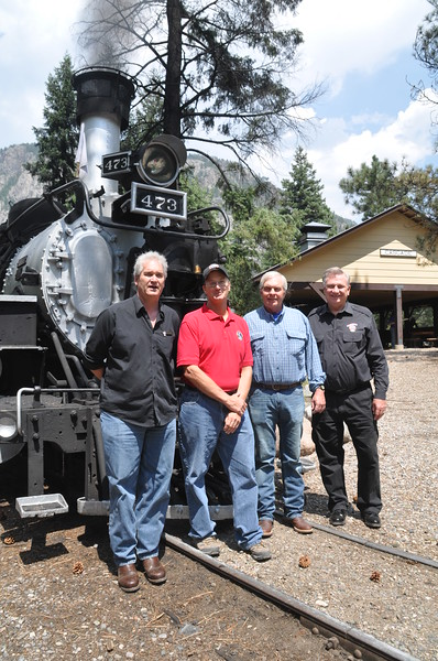 Dave and Paul Schranck, Steve Jackson, Al Harper