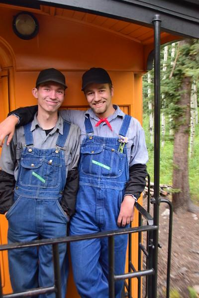 Cousins Jonathan and Kyle
