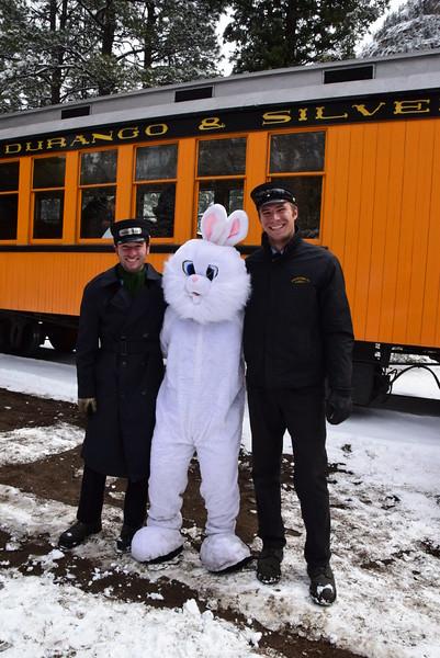 Avery, E Bunny and Tyler T