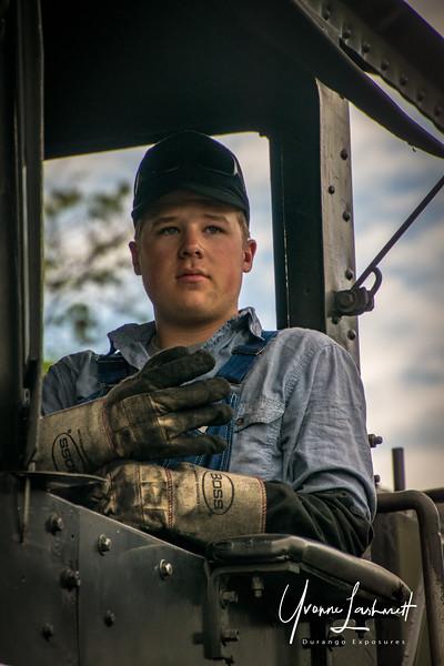 Fireman Russell Heerdt