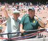 Paul Lourey & Hayden Joyce<br /> At the MCG