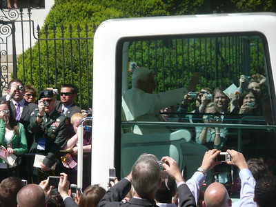 The Pope Visits Washington, DC