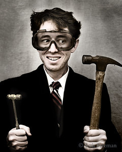 A Portrait of the Artist With Hammers