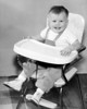Me in highchair.  Butte Montana 1954 or 1955