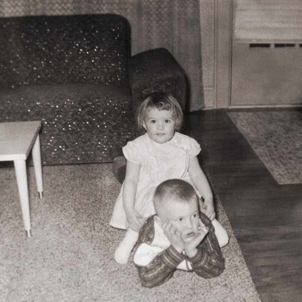 Me and Aileen in August 1958.